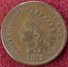 US Indian Cent 1875 (C2210)