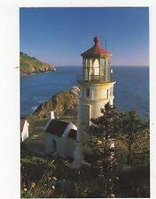 Heceta Head Lighthouse Usa Postcard 350a ^