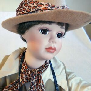 """Taylor By Artist Sharleen Kelsey  a Large Porcelain Doll 26"""" Tall"""