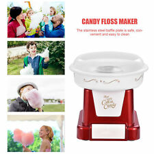 Commercial Home Kids Cotton Candy Machine Sugar Floss Maker Party Electric Red
