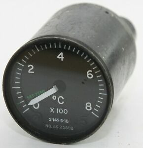 EGT gauge reading to 800 degrees (GC7)