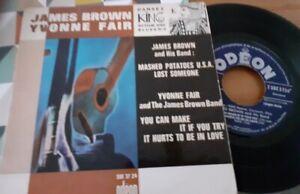 FRENCH EP James Brown, Yvonne Fair – Dansez KING Rythm And Blues No.3