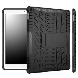For iPad 5th 6th Gen Air Pro 9.7 Mini 2 3 4 5 Case Rugged Rubber Stand Cover