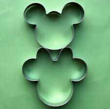 Mickey Minnie Mouse Cookie Cutters Fondant Biscuit Candy Baking Mold Set