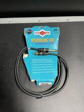 Monster Cable Studiolink 500 Sl500I-Cr-2 Rca (M) to 1/4 Jack (M) 2m 6.6ft
