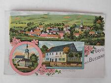 AK Litho. 1912  Gruss Bussbach Busbach? zwischen Bamberg? und Bayreuth?