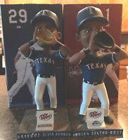 Elvis Andrus Adrian Beltre SGA Texas Rangers Best Friends Bobblehead Set 2018 D