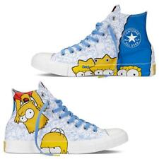 Converse Simpsons HOMER & BART Outlined Characters HI TOP Shoes DISC Mns 10 NIB