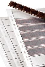 Hama 35mm 25x STRISCIA negativa Maniche PAGINE RACCOGLITORE ad Anelli Di Stoccaggio-Trasparenti