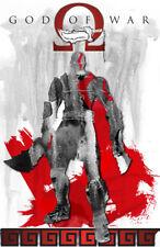 God of War Kratos Gamer Art 11 x 17 High Quality Poster (White Variant)