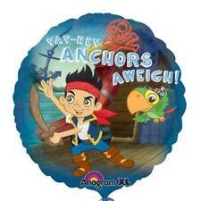 45.7cm Jake & PIRATES Anchors Away DISNEY Globo Decoración Fiesta