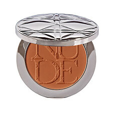 Dior Diorskin Nude Tan Healthy Glow Face Powder With Brush 002 Amber RRP £38