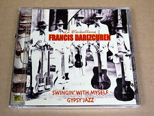 CD Francis Darizcuren Swinging with Myself / Gypsy Jazz / la Marseillaise