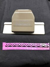 Stampin Up DECORATIVE RIBBON BORDER PUNCH Scrapbook Paper Punch