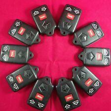 Lot of 10 Chrysler Dodge Jeep OEM  Remote Keyless Fob 3B - GQ43VT7T