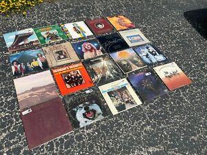 Vinyl Lot of 20 vintage record album collection (LOT RH204) ROCK & ROLL - POP