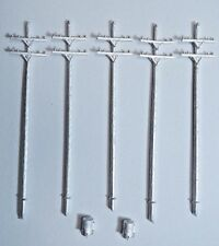 N Scale Power Pole Kit for Model Railroad Hobby by Century Foundry (503)