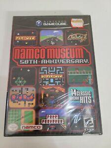 Namco Museum: 50th Anniversary (Nintendo GameCube, 2005) FACTORY SEALED!
