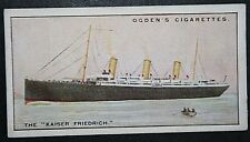 SS KAISER FRIEDRICH  North German Lloyd Liner  Original Vintage Card VGC