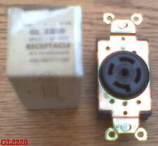 GE GL0920 2360 20 Amp 600 VOLT  L9-20R RECEPTACLE HBL2350