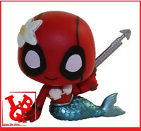 DEADPOOL SIRENE Mermaid 1/72 Mini Fig Mystery BobbleHead pop FUNKO # NEUF #
