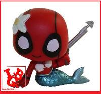 DEADPOOL SIRENE Mermaid 1/72 Mini Fig Mystery BobbleHead pop FUNKO # NEUF #