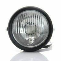Grill Retro Vintage Motorcycle Side Mount Headlight For HXXlXy Cafe Racer Bobber