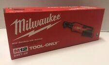 BRAND NEW MILWAUKEE 2457-20 M12 12V 12 Volt Lithium-Ion Cordless 3/8