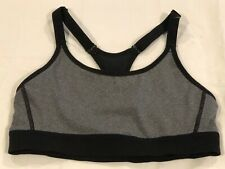 Champion Black & Gray Sports Bra Juniors Size Small New - Missing Tags LBB76