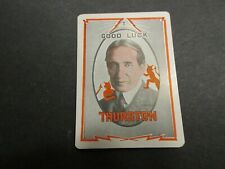1930's Vintage Howard Thurston Magician's Throw Out Card