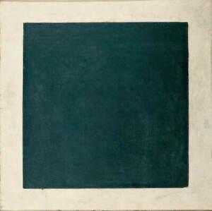 Kazimir Malevich Severinovich Black Square Giclee Paper Print Poster