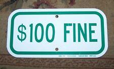 $100 FINE ALUMINUM SIGN Peachtree SNG-71C Heavy Duty