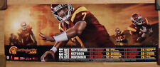 College Football Poster USC Trojans 2011 Game Schedule ~ Christian Tupou