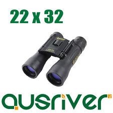 Galileo New 22x32 1500M/7500M Black Day & Night Double Use Compact Binoculars