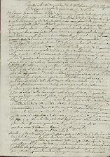 Manoscritto Estratto Atto Ufficiale Rinuncia Matrimonio Maria Teresa D'Asburgo