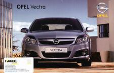 2007 Opel Vectra German Prospekt Sales Brochure OPC