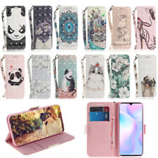 3D Magnetic Leather Wallet Stand Case Cover For Motorola/Nokia/ASUS Lots model