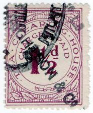 (I.B) George V Revenue : Tea Clearing House 1½d