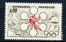 STAMP / TIMBRE FRANCE NEUF LUXE N° 1705 ** JEUX OLYMPIQUES HIVERS A SAPPORO
