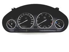 D BMW E36 Chrom Tachoringe Edelstahl poliert 4 Ringe