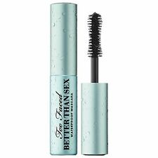 Too Faced Better Than Sex Waterproof Mascara Travel (3.9g/0.13oz) NIB