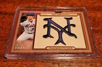 IKE DAVIS 2011 TOPPS UPDATE THROWBACK PATCH RELIC #TLMP-IDA NEW YORK METS!