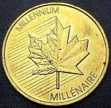 Canada 1999 - 2000 Royal Canadian Mint Medallion Token - BU UNC - Combined S/H