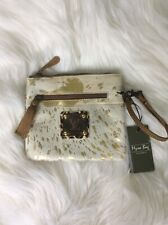 MYRA BAG SPOTTED LEATHER POUCH S-2081