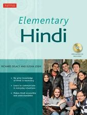 Elementary Hindi by Richard Delacy and Sudha Joshi (2009, Hardcover)
