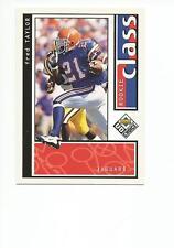 FRED TAYLOR 1998 UD Choice ROOKIE card #204 Florida Gators Football NR MT