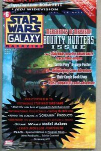 Star Wars Galaxy Magazine #6-1996 nm Boba Fett sealed factory bag w/trading card