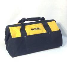"""New DeWalt 18"""" x 11"""" x 11"""" Contractors Tool Bag Heavy Duty Nylon"""