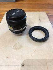 Nikon 100mm f2.8 Series-E Ais manual focus telephoto lens - Nice & Mint in box!