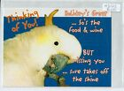 A3123cgt Birds Sulphur Crest Cockatoo Thinking of You postcard